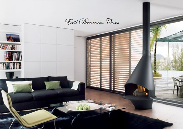 chemin e po le gaz pour la chaleur et le charme chemin e contemporaine. Black Bedroom Furniture Sets. Home Design Ideas