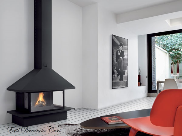 chemin e 94 murale gaz avec le feu sur 3 c t s chemin e gaz pas ch re. Black Bedroom Furniture Sets. Home Design Ideas
