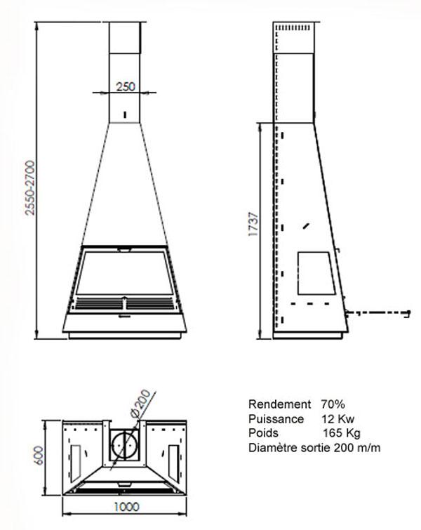 cheminée de face 58-2