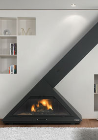 Natural gas fireplaces 95
