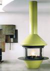 cheminee au gaz centrale 96-1