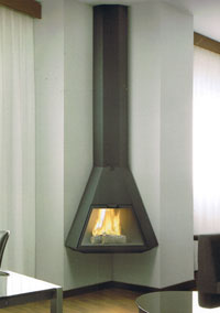 Natural gas fireplaces 100