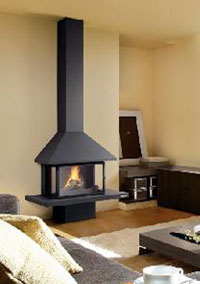 Natural gas fireplaces 102