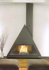 Natural gas fireplaces 103