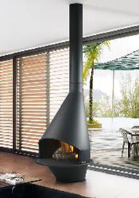 Natural gas fireplaces 104