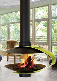 Natural gas fireplaces 107