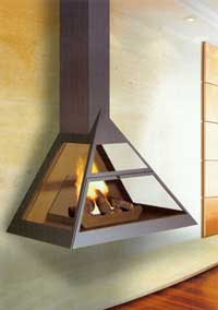 Natural gas fireplaces 108