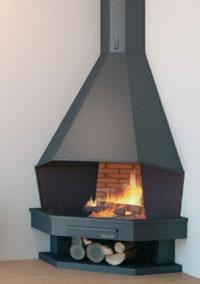 cheminée angle 117