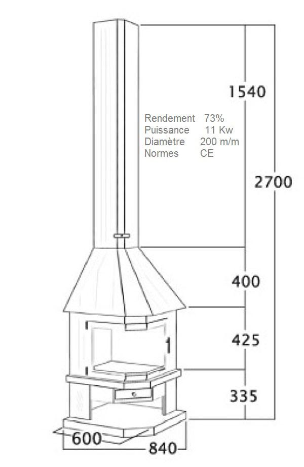 cheminée angle 119-3
