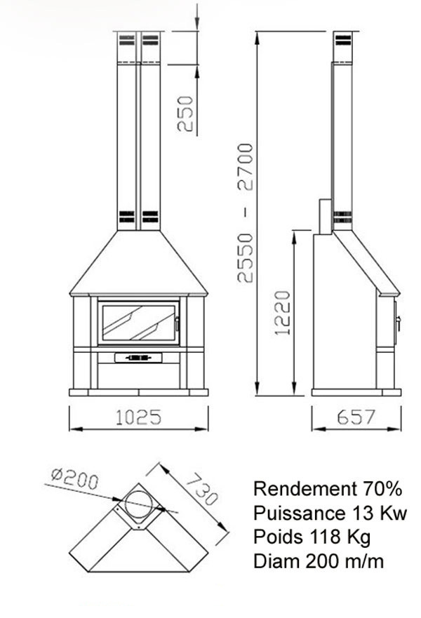 cheminée angle 7-1