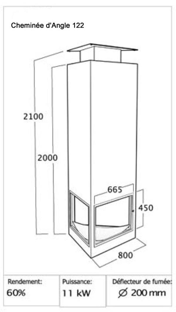 cheminée angle 122-2