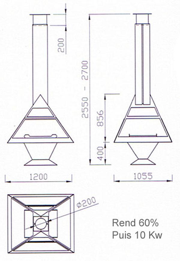 cheminee centrale 13-2