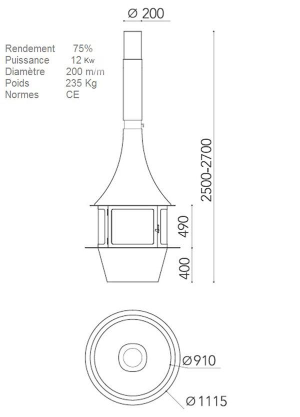 cheminee centrale 134-3