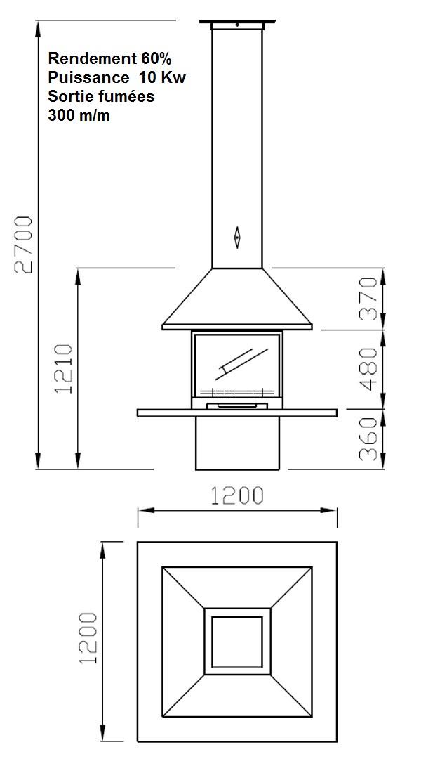 cheminee centrale 25-2