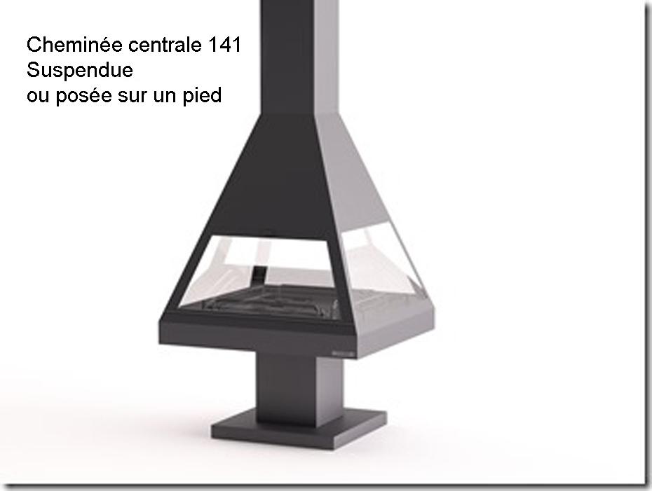 cheminées centrale suspendue CH 05 C