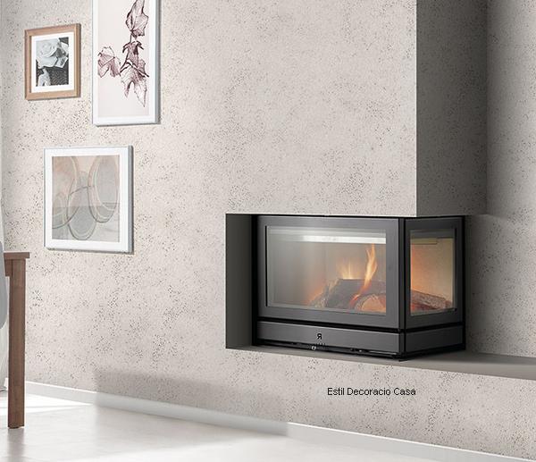 insert au bois de chauffage id al pour placer dans un. Black Bedroom Furniture Sets. Home Design Ideas