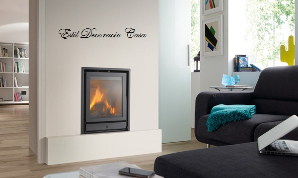 insert mural avec foyer en hauteur pour grandes flammes prix bas. Black Bedroom Furniture Sets. Home Design Ideas