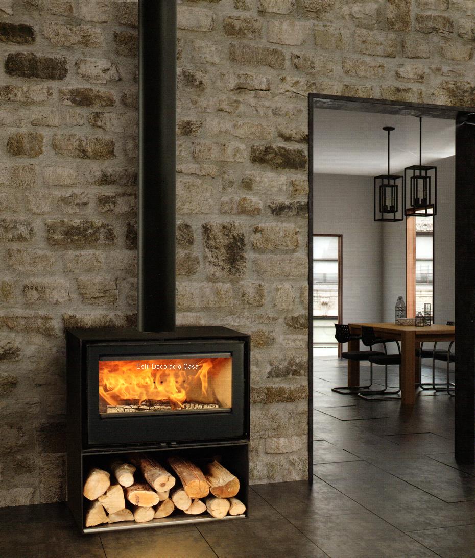 po le au bois 85 traditionnel avec une touche de puissance et la joie du feu un po le pas cher. Black Bedroom Furniture Sets. Home Design Ideas
