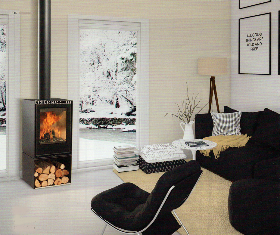 le po le au bois 91 id al pour admirer les flammes sur toute leur hauteur pas cher. Black Bedroom Furniture Sets. Home Design Ideas