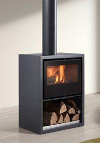 wood stove 85